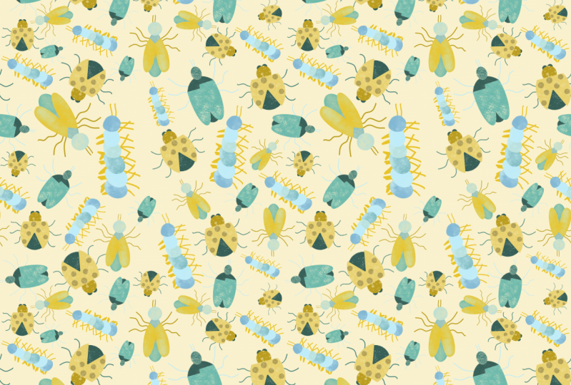 Insect Repeating Pattern