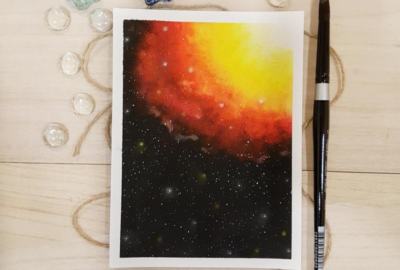 Neon Nebula Galaxy