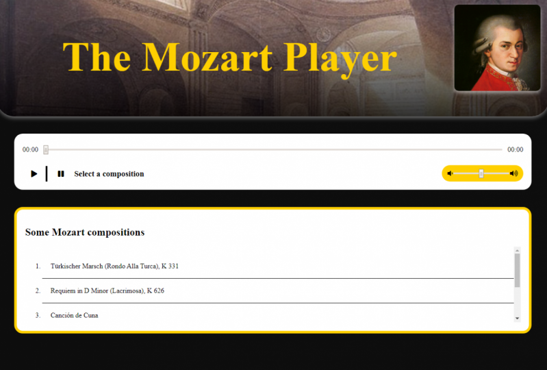 The Mozart Player