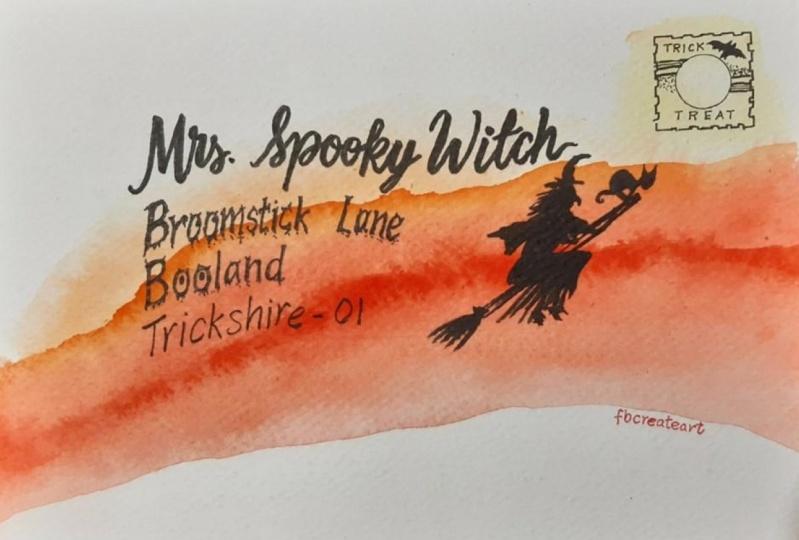 Spooky Envelope