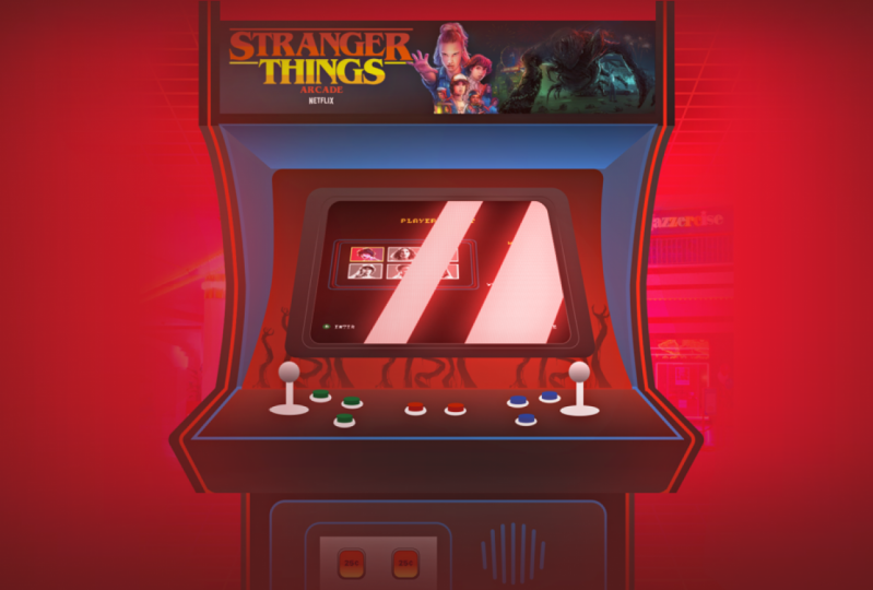 Stranger Things Arcade