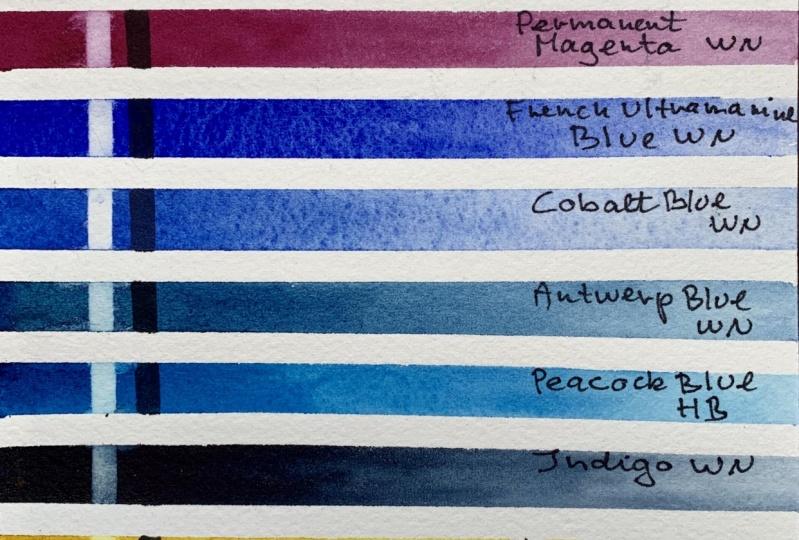 My Favorite WC Palette Colors