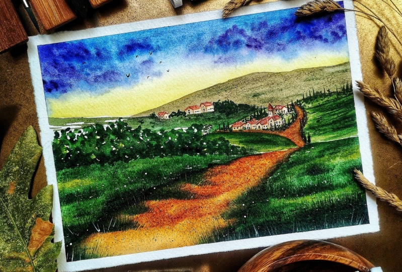 Tuscanian Landscape