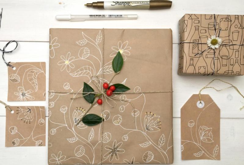 Pattern Design Basic Floral Seamless