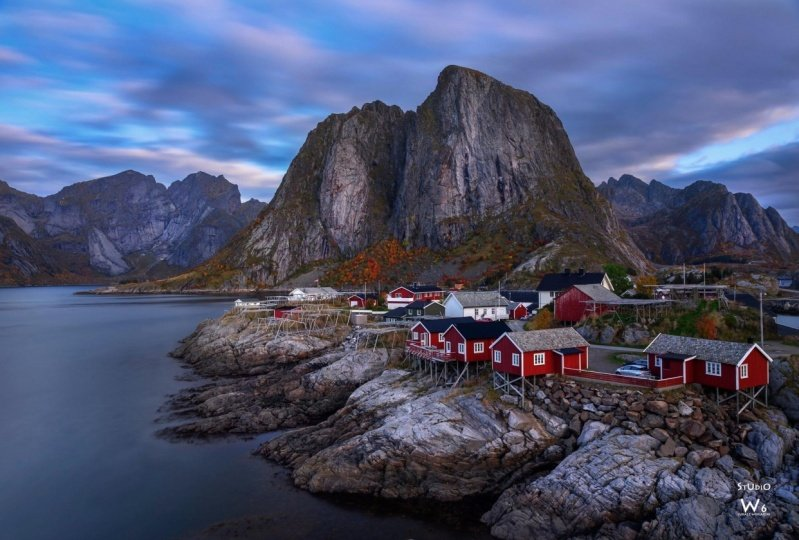 Hamnoy - postproduction that I follow with Daniel's classes.