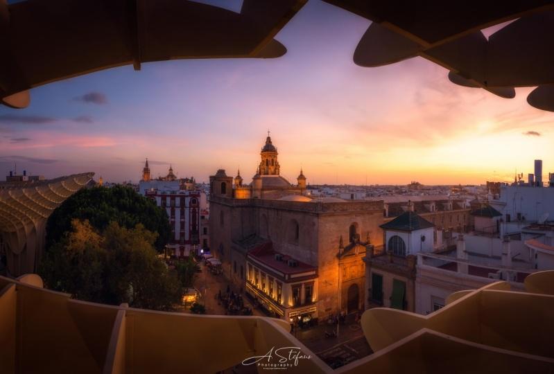Sunset from Las Setas