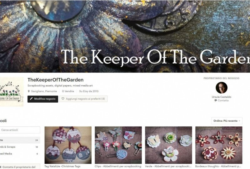 My new shop on Etsy