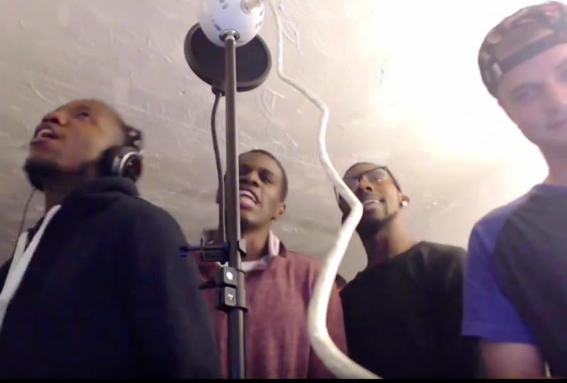 Cypher with some friends