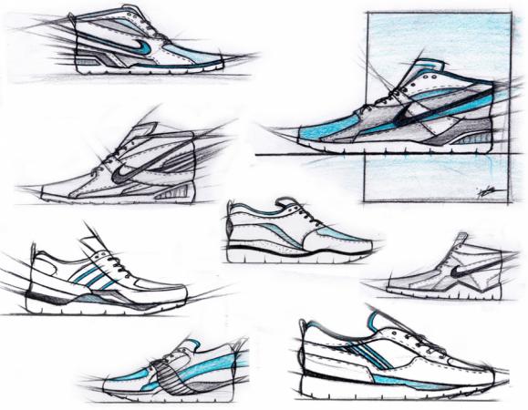 Sneakerology pre-sketches