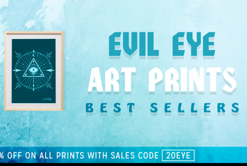 Evil Eye Web Ad Banner