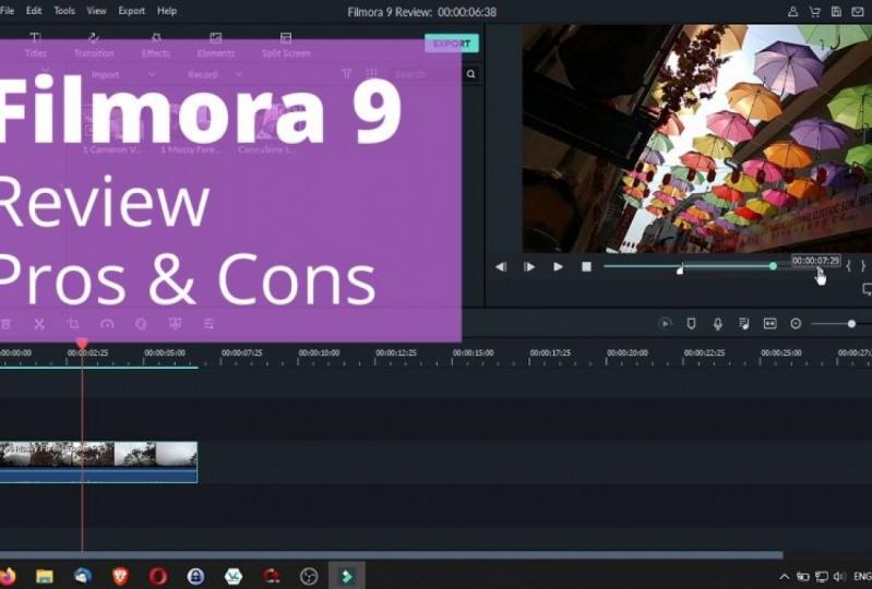 Filmora 9 Project