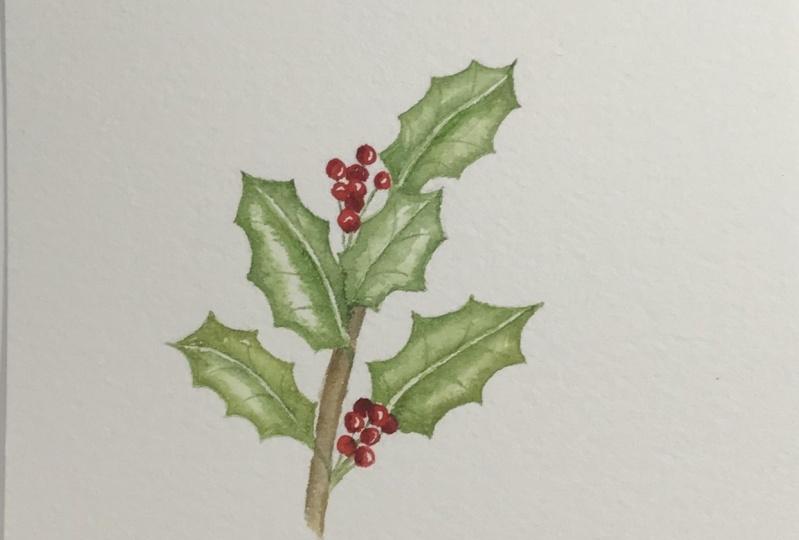 Bev's Holly & Berries