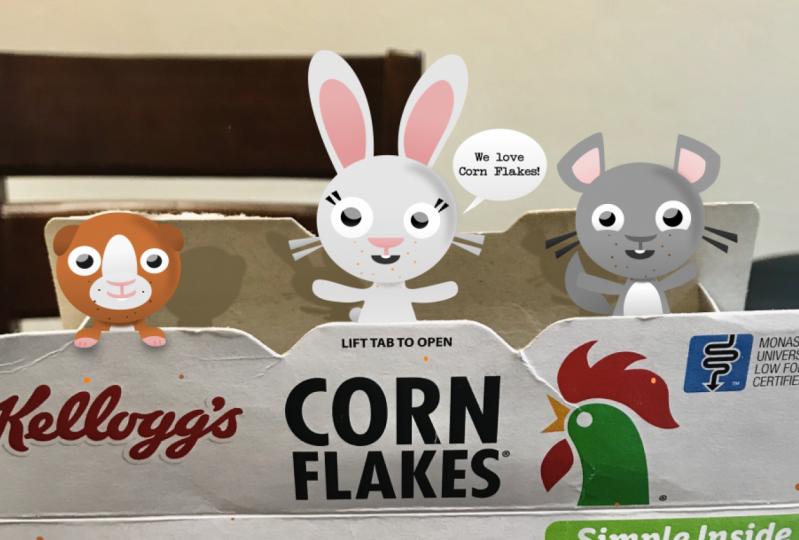 We love Corn Flakes!