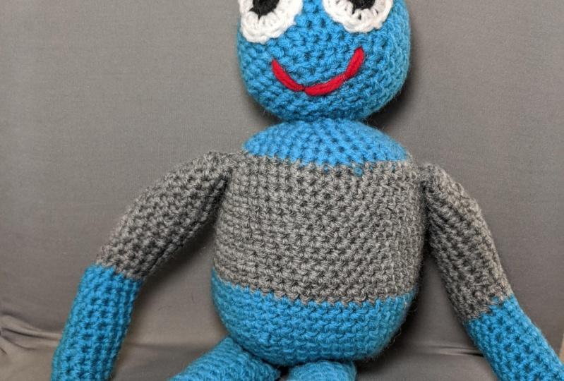Goo - A Crochet Character