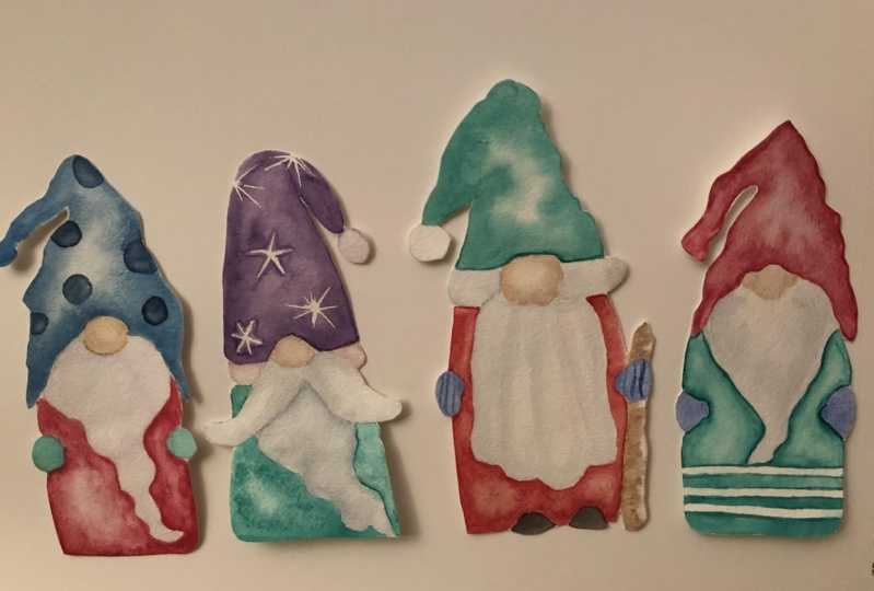 Gnome Gift tags