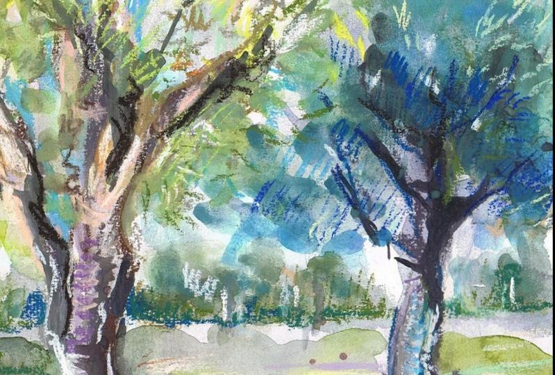 Watercolour & Soft Pastels