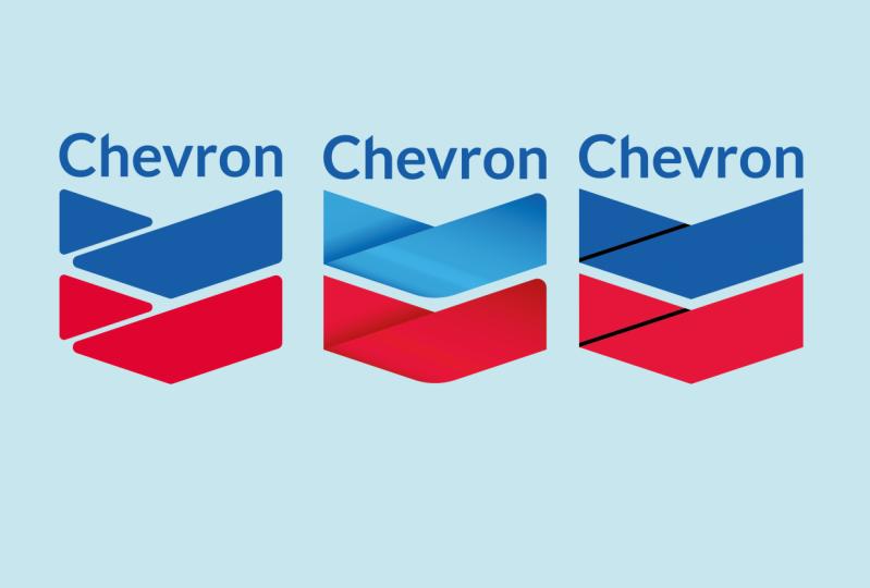Tres versiones de Chevron