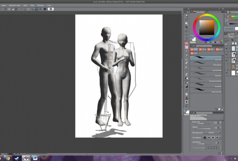 Trying 3D Model