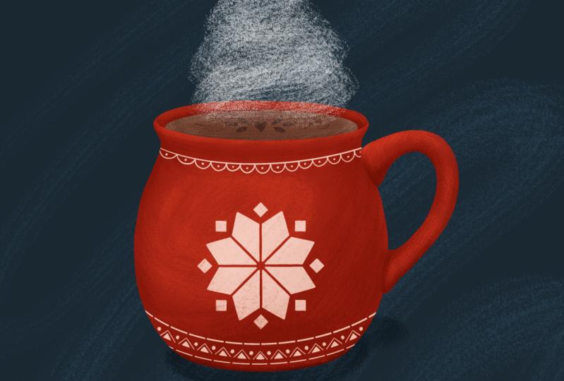 Mug illustration
