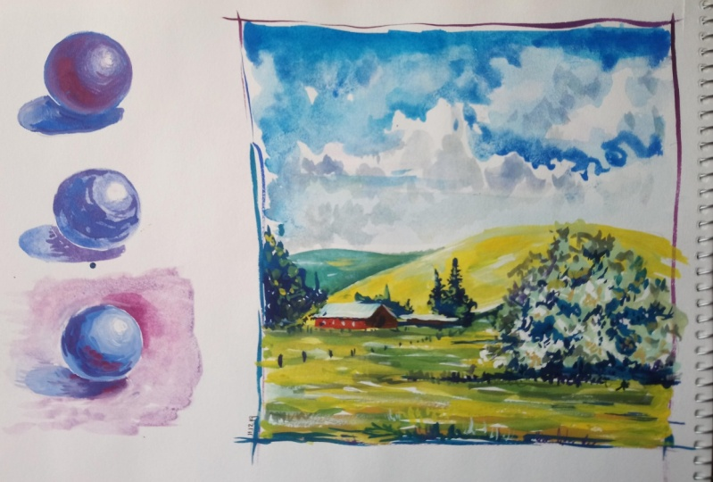 Painting with Gouache Made Fun & Easy!