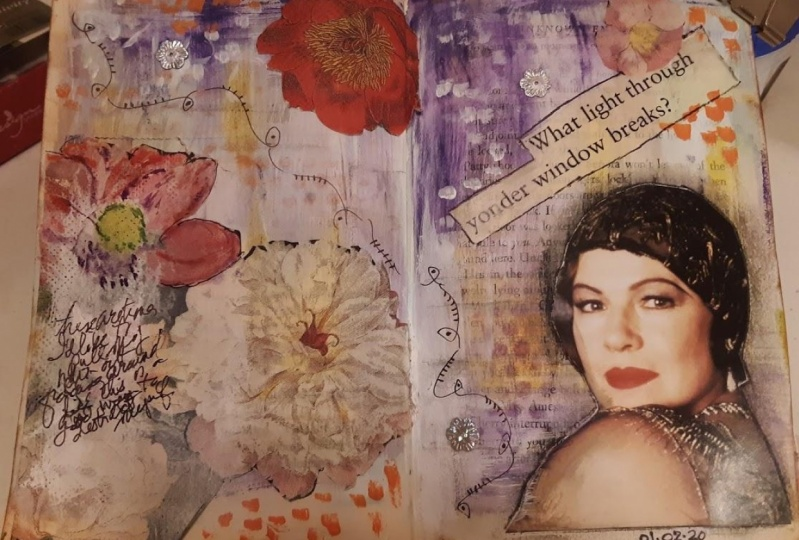 20 Minute Art Journal Pages