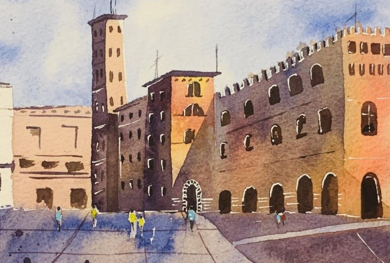 An Italian Town