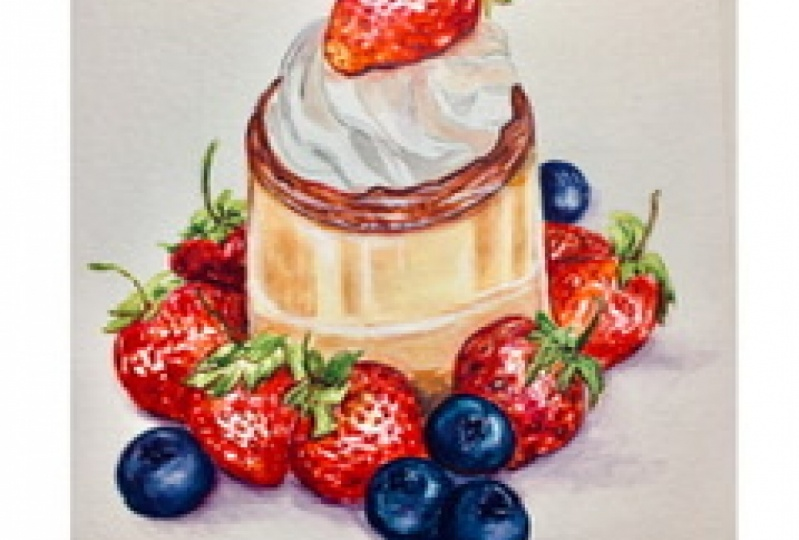 Strawberry Project - Flan