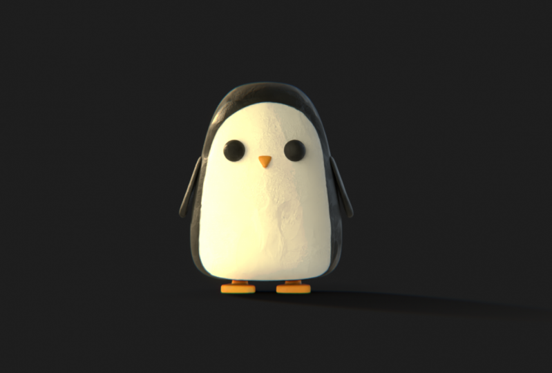 Peppy the Penguin - My First 3D Character