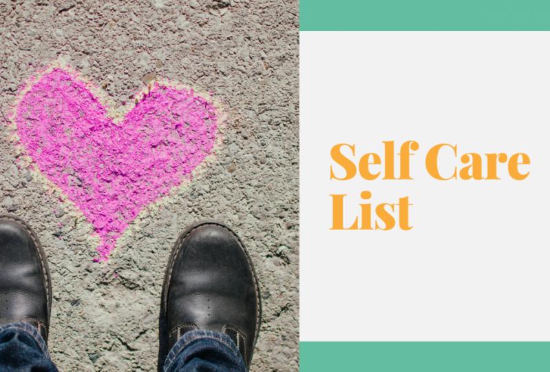 Top Ten SelfCare List