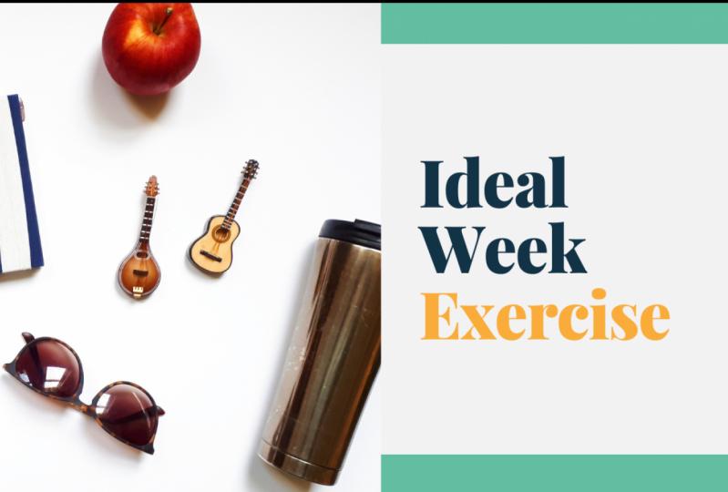 Visualizing You Ideal Week