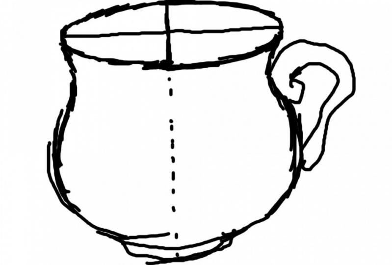 My Teacup Sketch
