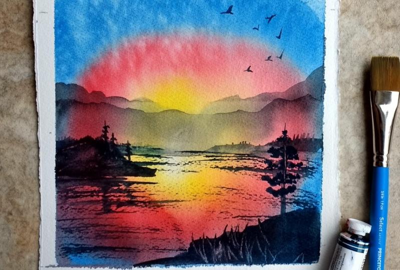 Sunrise/Sunset Glow