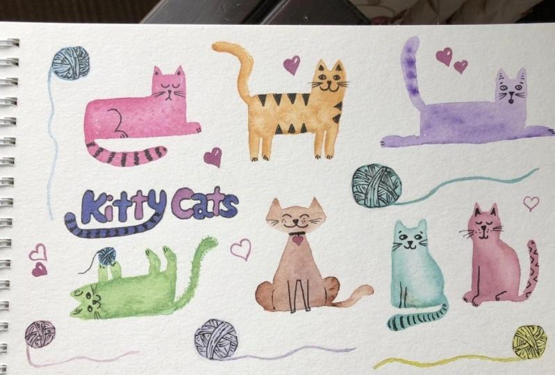 Cartoon Kitties