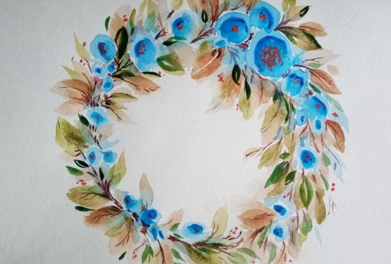 Watercolour floral master class- Loose florals