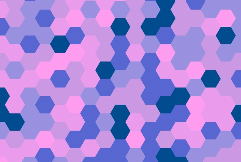 Winterskyhexagons