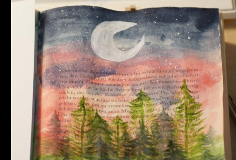 Painting on novels