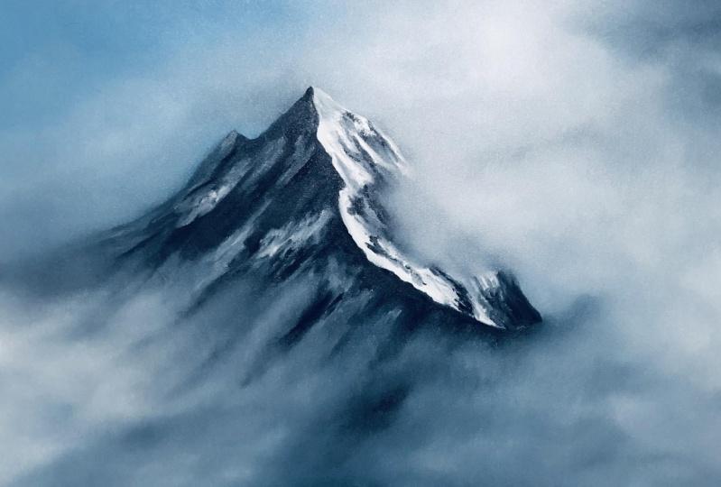 Foggy Mountain Top