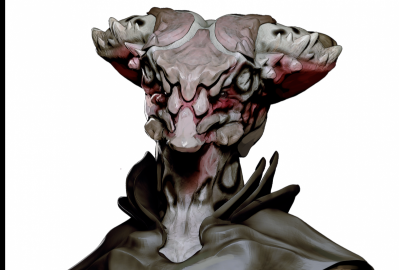 First Attempt with Zbrush