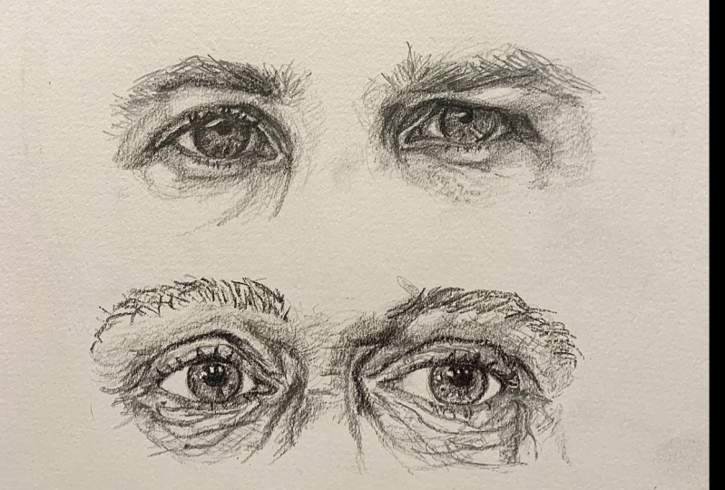 Eyes, noses, mouths
