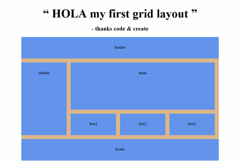 my first grid project ha ha its nice
