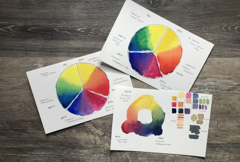 Colour Mixing Woo