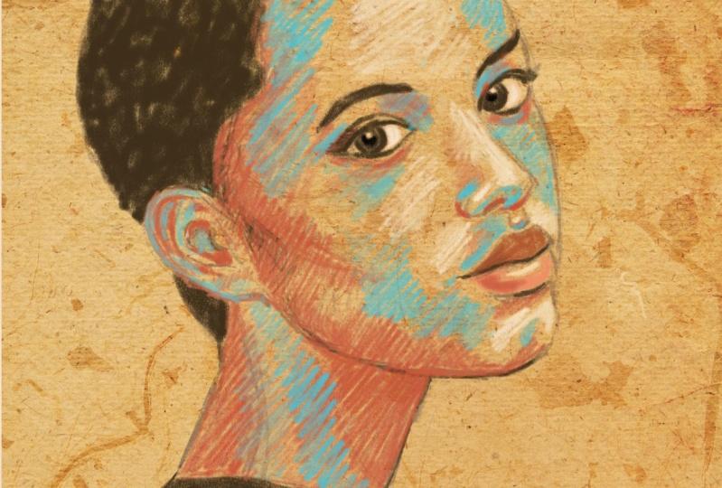 My sketchy portrait