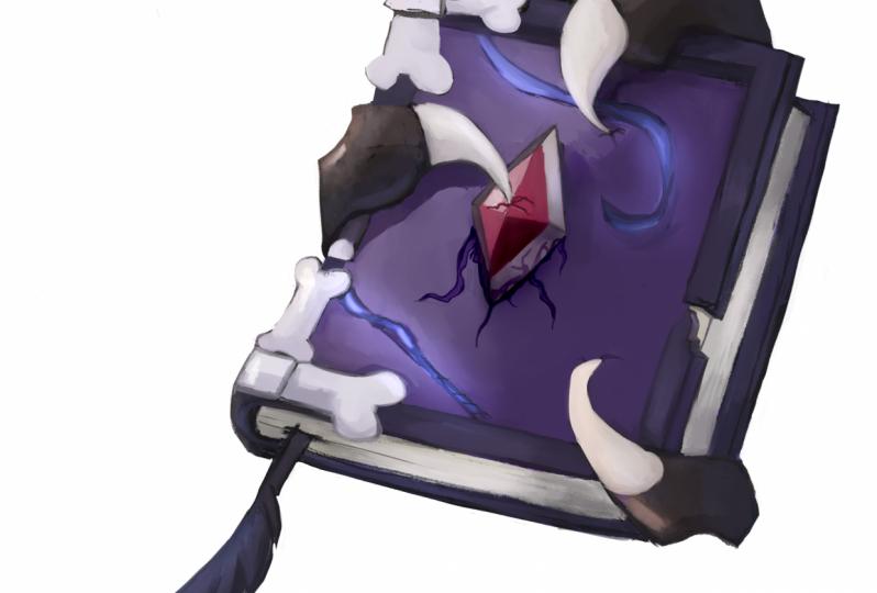 Necromancy spellbook prop
