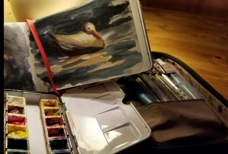 My little sketch kit :)