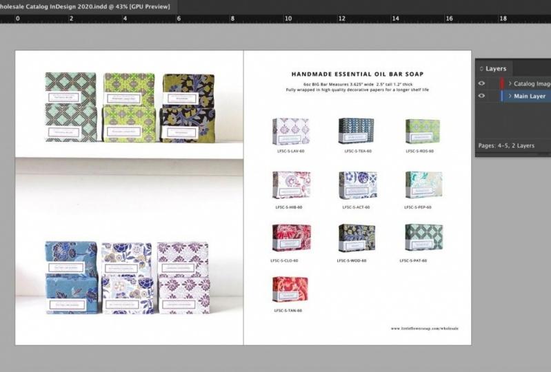Wholesale Catalog via In Design