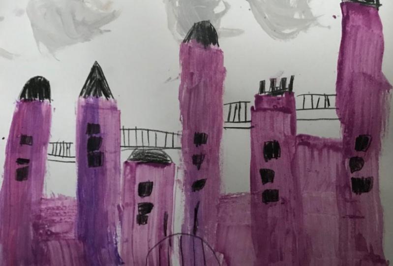 Aaliyah's Purple Castle
