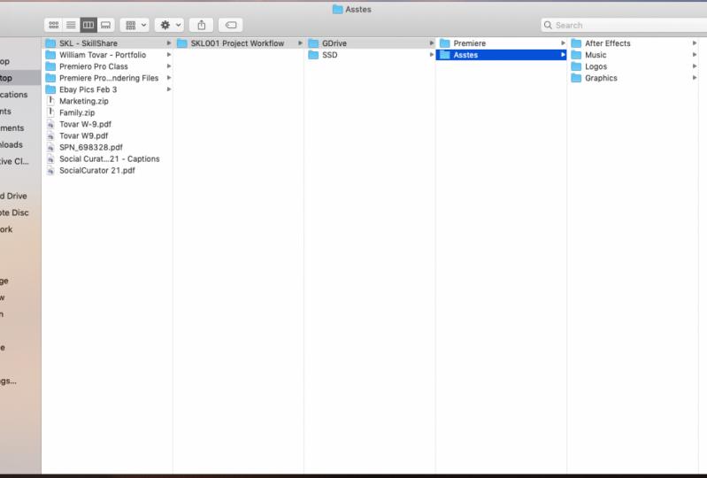 Premiere Pro Workflow