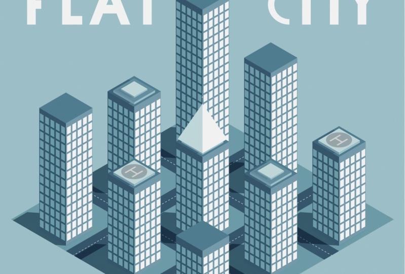 Flat cities