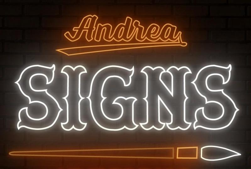 Andrea Signs