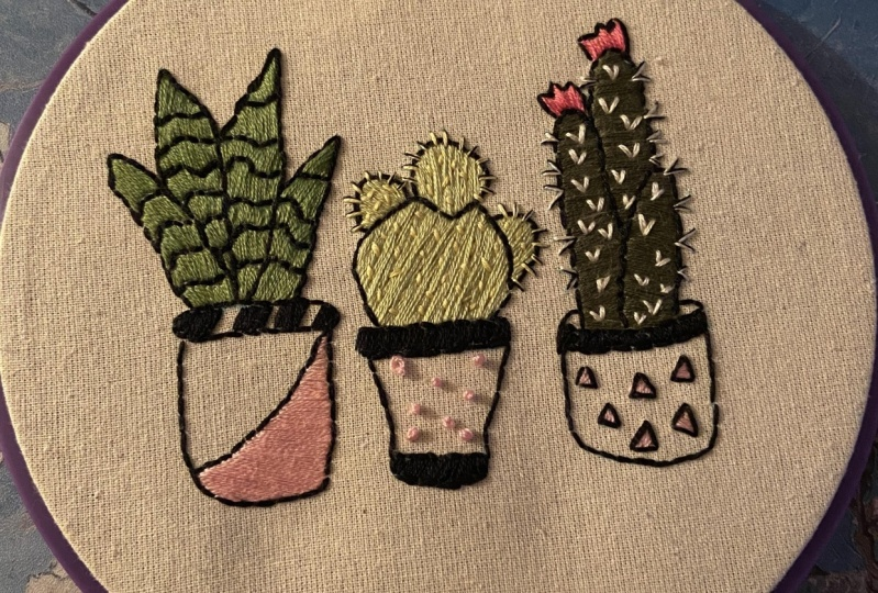 First Embroidery Project